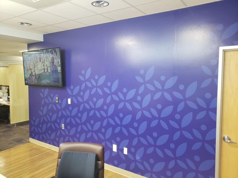 Sonas Branded Waiting Room