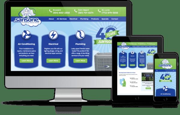 Sansone-Responsive Website
